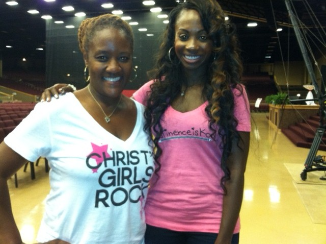 Me and Celebrity Radio Host, Kendra G