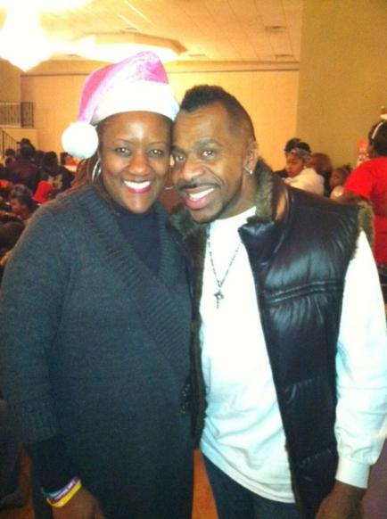 Me and VH1 Hollywood Exes Tony Harper at Toy Give-A-Way